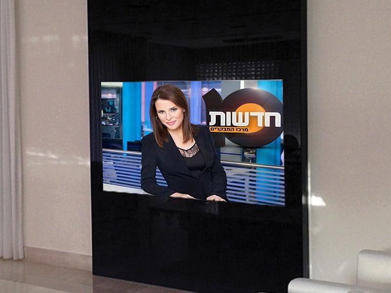 חיפוי טלוויזיה בזכוכית